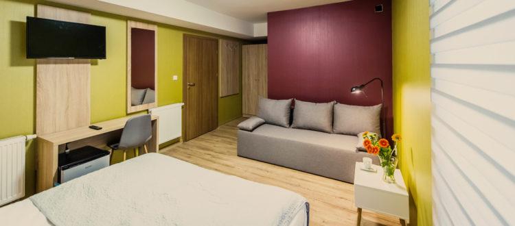 Eskapada - pokój 1-widok ogólny na pokój