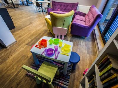 Eskapada - sala bankietowa piętro-kącik dla dzieci